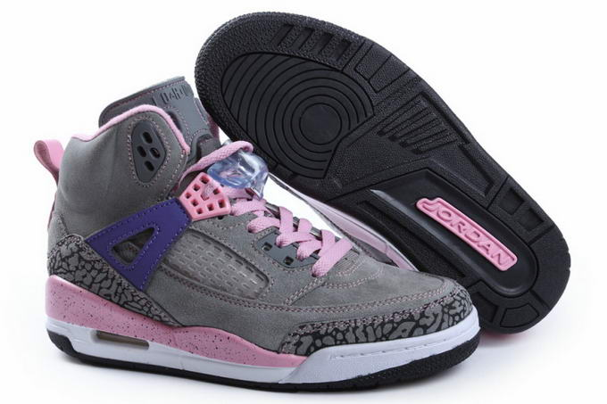 Womens Jordan 3.5 Spizike Shoes Dark gray/Pink